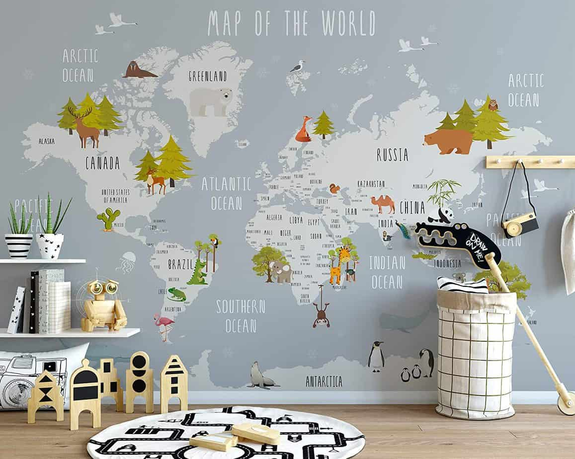 10 Awesome Wallpaper Designs For Bedrooms For Kids 54 For Small Home Remodel Ideas with Wallpaper Designs For Bedrooms For Kids