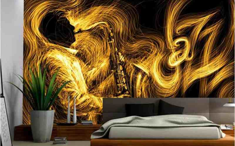 10 Brilliant Wallpaper For Bedroom Walls Designs 34 For Your Home Decor Arrangement Ideas for Wallpaper For Bedroom Walls Designs