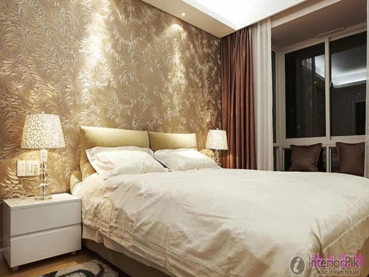 10 Cool Wallpaper Designs For Master Bedroom 43 For Your Home Decor Arrangement Ideas for Wallpaper Designs For Master Bedroom