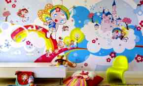 10 Easy Wallpaper Designs For Kids Bedrooms 62 on Home Design Ideas with Wallpaper Designs For Kids Bedrooms