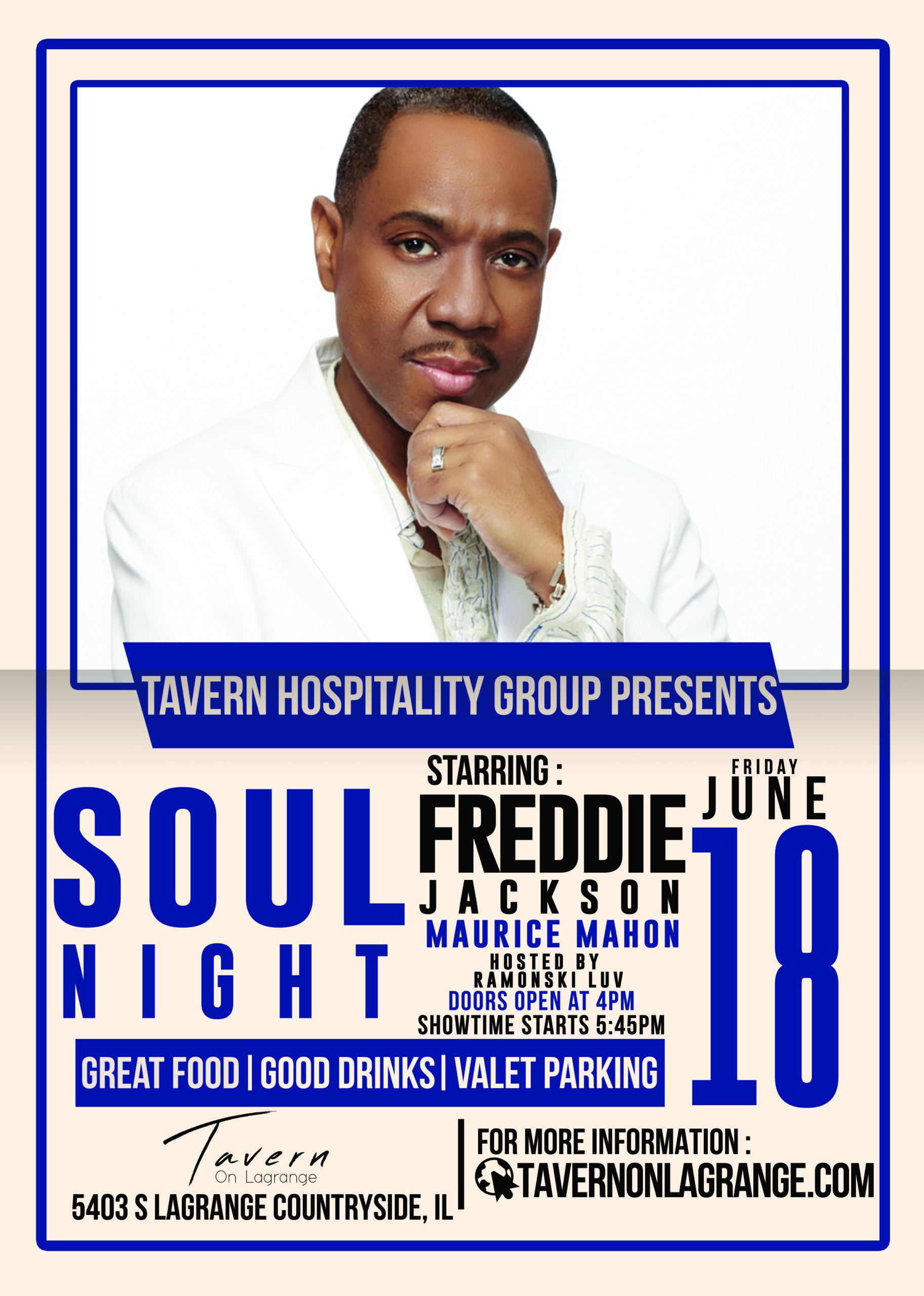 Soul Night! Starring Freddie Jackson (Friday Evening Show)
