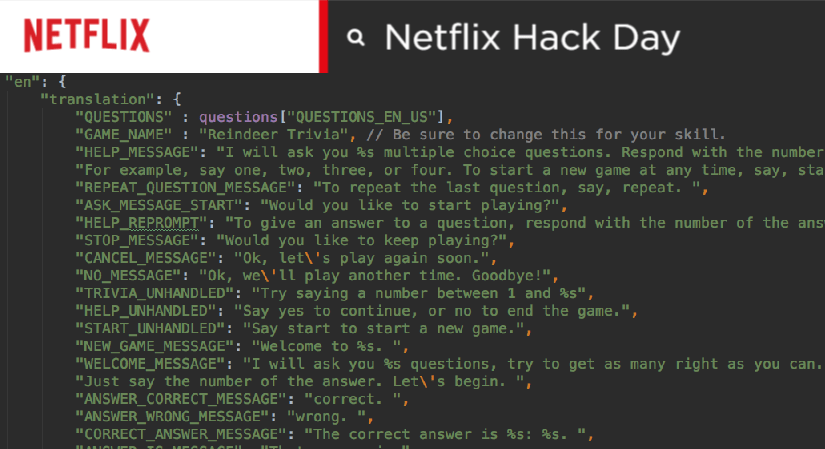 Netflix Hack Day: Where employees have fun and experiment new tech