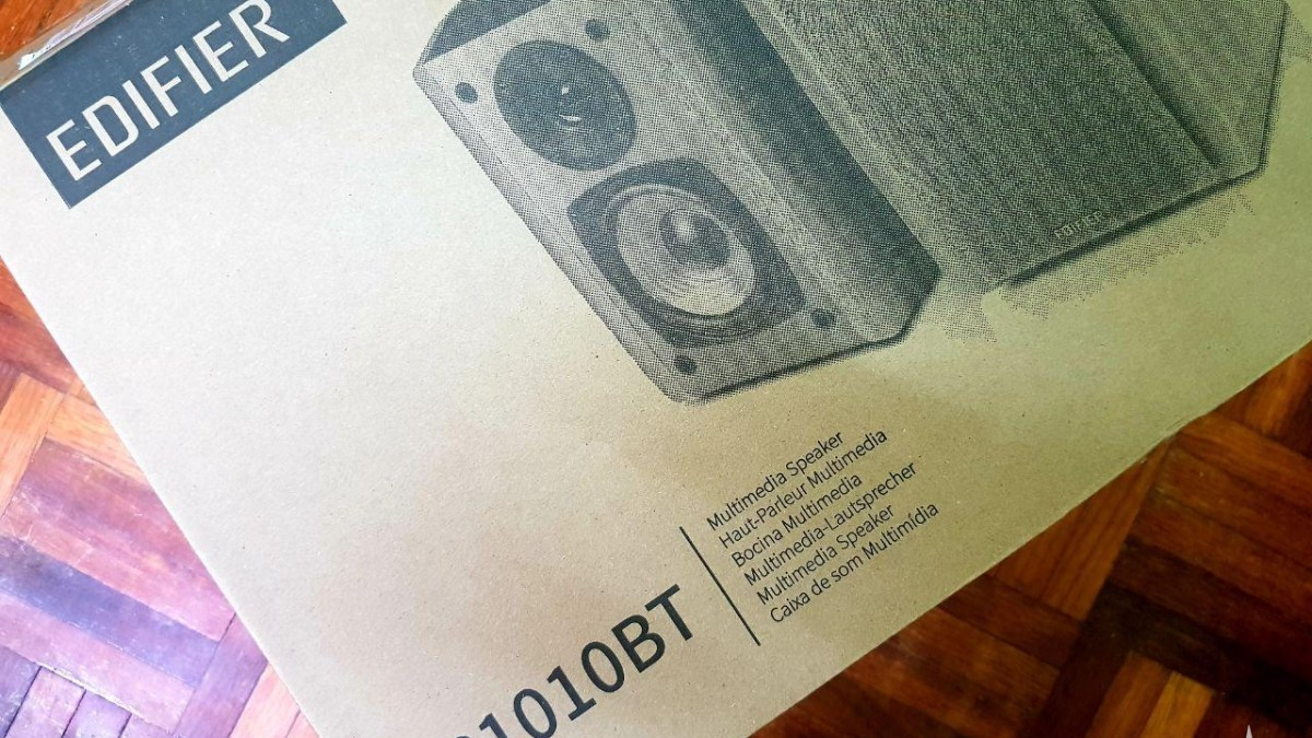 Edifier R1010BT Speakers: Unboxing and Initial Impression