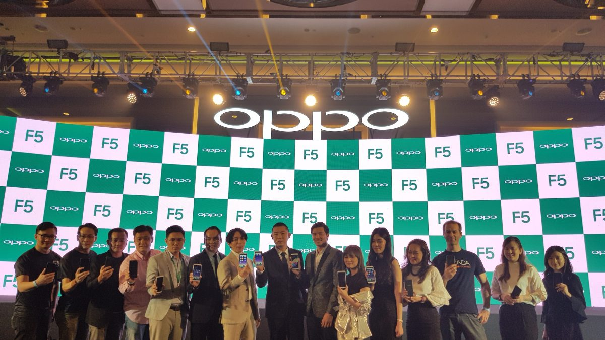 Oppo F5 Now in Malaysia; Pre-Order Starts from 2nd November