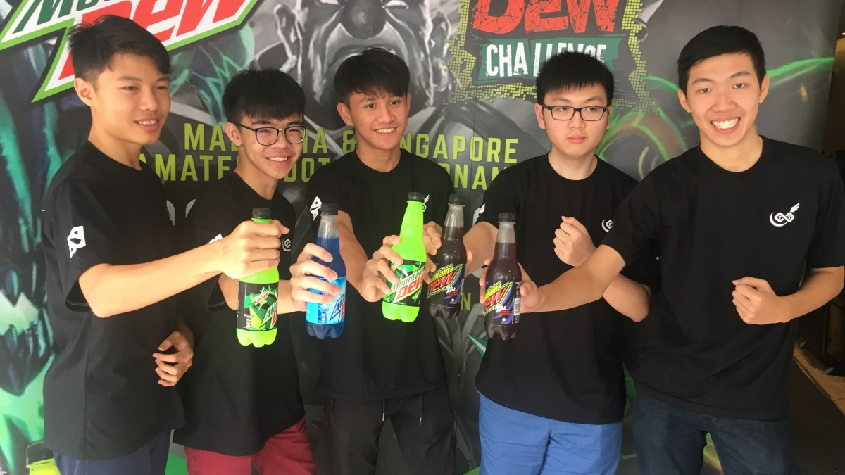 Malaysia and Singapore Battles for the Dew Challenge 2017