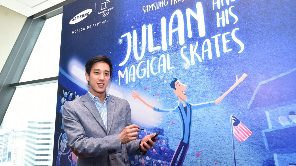 """""""Julian and His Magical Skates"""" Feature Film Released By Samsung"""