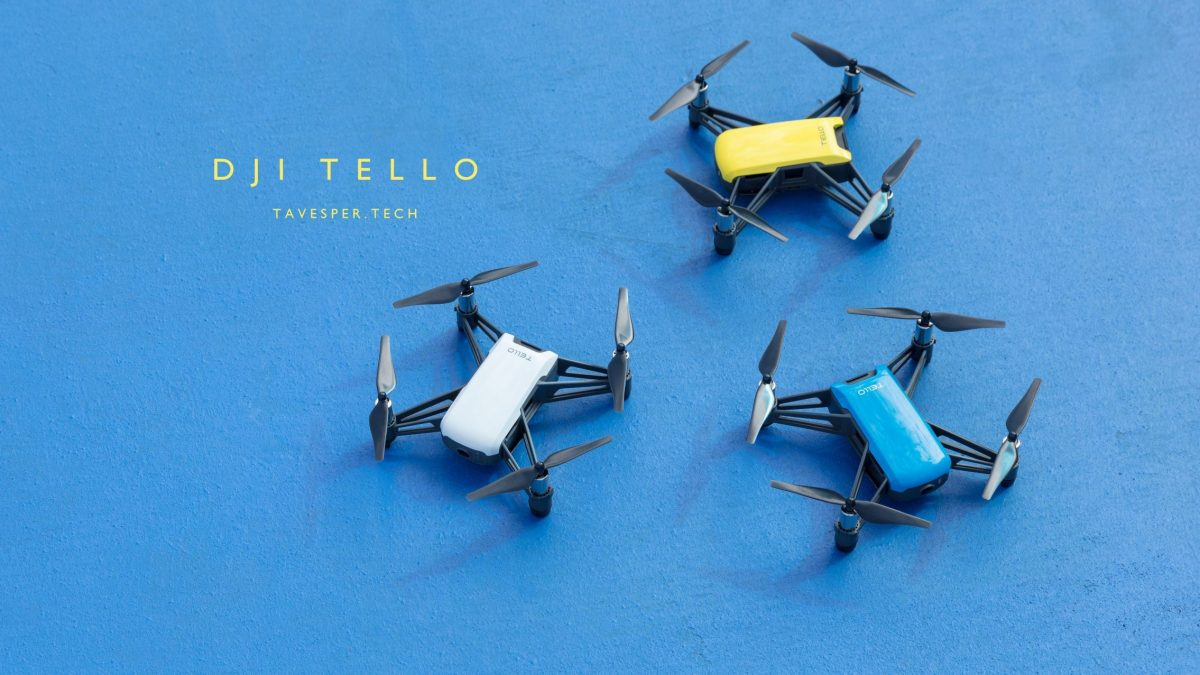 DJI Tello, The Drone for Education is Now Available for Pre-Orders!