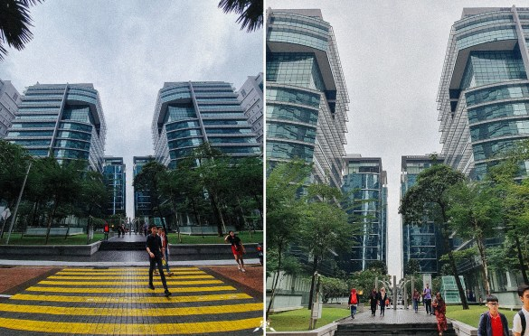Ultra Wide-angle vs. Normal