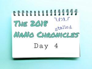 2018 NaNo Day 4 Tavinda Media Stalled