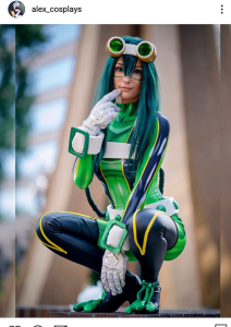 @alex_cosplays Edgeshot My Hero Academia Podcast Tavinda Media