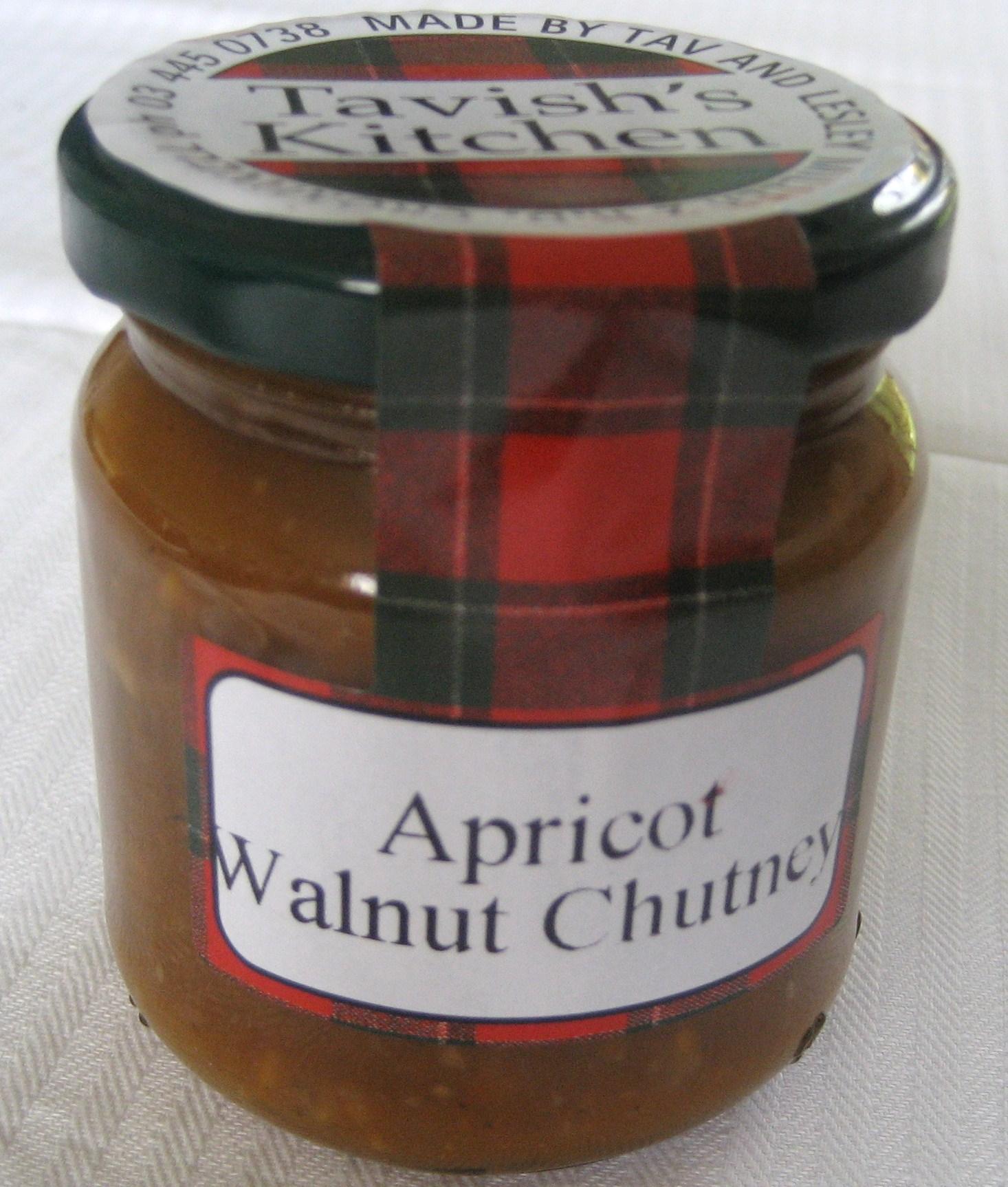Apricot Walnut Chutney