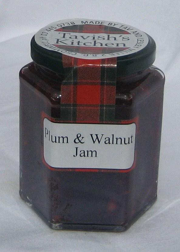 Plum & Walnut Jam