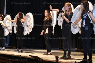 The Hickson Harmonizers do a skit from Pitch Perfect at the Hickson Public School Talent Show.