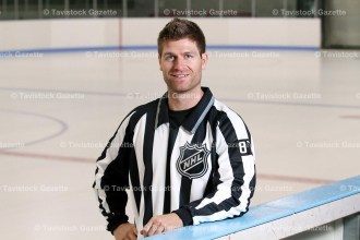 Devin Berg has begun his career as a full-time NHL linesman for the 2016-2017 season.