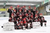 The South Huron Sabres - Ontario West CC Novice OMHA Champions.