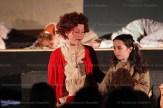 "Hickson Public School production: Hannah Van Boekel as ""Annie"" with Annabelle Hendry as ""Molly""."