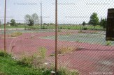A view of the tennis courts as they looked when abandoned. Photo contributed.