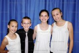 ElectriCALL SToRM Stratford area step dancers including, from the left, Anna Tigani, Leo Stock, Louisa Mueller and Clara Roth.