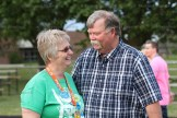 Shonna and Bruce Ward at the Relay for Life in Woodstock.