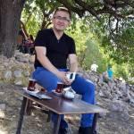 Dördüncümüz Aydın'dan Dr. Ömer Kukul - Çay keyfi tavladan ayrı düşünülemez :)