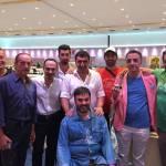 Nevzat Doğan organizasyon ekibimizden 2015 Dünya Şampiyonumuz Dr. Ali Cihangir Çetinel ve Monte Carlo 2015 Türk ekibi ile