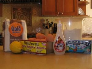 ingredients for massa sovada