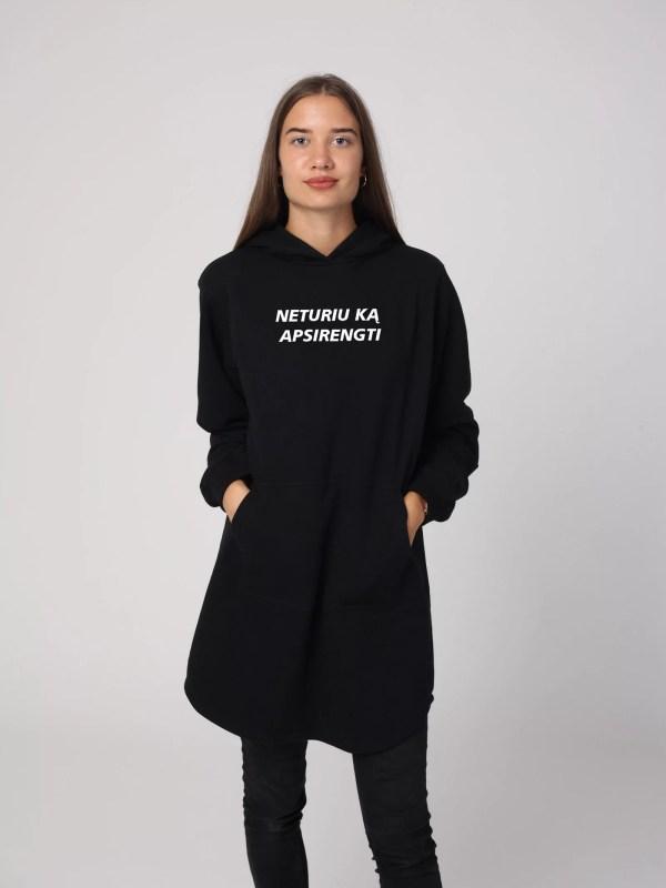 Ilgas džemperis NETURIU KĄ APSIRENGTI