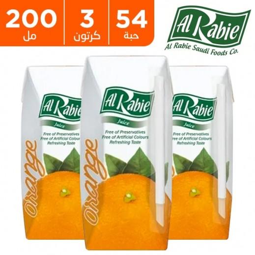 اشتري الربيع عصير البرتقال نكتار 200 مل 54 حبة أسعار الجملة توصيل Taw9eel Com