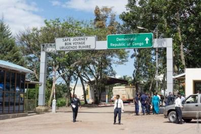 Poste frontière de Rubavu/Goma (Rwanda-RDC)