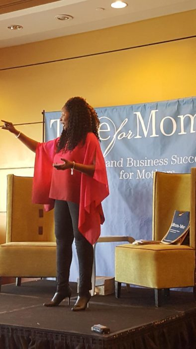 Tawanna B Smith speaking Time For Mom Me event
