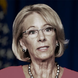 Betsy DeVos United States Secretary of Education aryan aliens