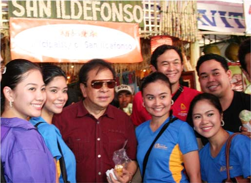 GOV. CHAVIT AND THE VISITORS
