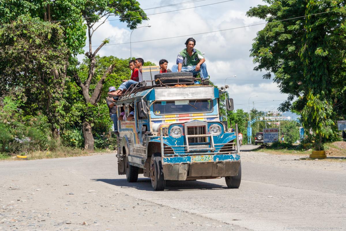 Topload jeepney, Tabuk, Kalinga.