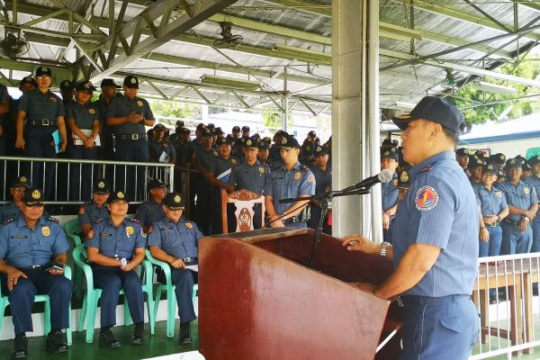 PRO1 sends off 700 cops for Undas 2018
