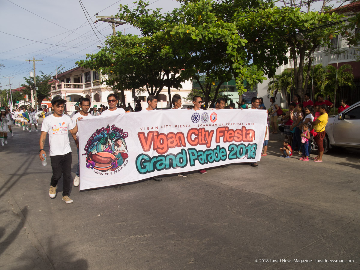 Vigan City Grand Parade 2018 (photo by Jasper A. Espejo)