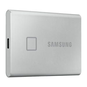 """SSD SamSung T7 Touch 500GB / 2.5"""" USB -C, Silver , Up to 1,050MB/s"""