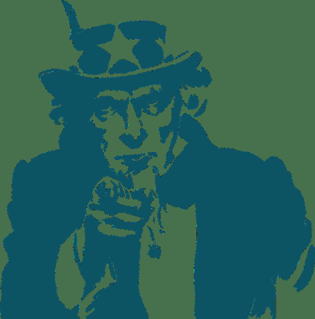 uncle sam, hat, stars