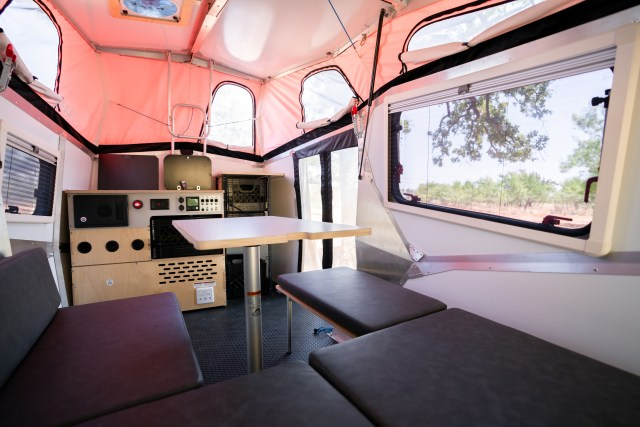 Cricket Camping Trailer 2021 Interior