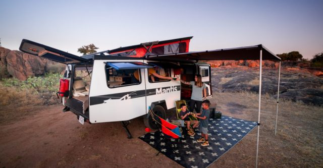 Mantis is one of the best Small Travel Trailers 2021