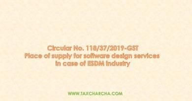 circular no. 118/2019-gst