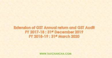 exntesion of GST annual return and GST audit