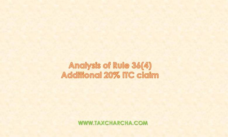 analysis of section 36(4)