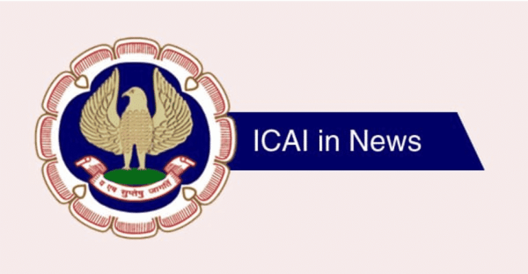 ICAI WAIVES OFF 75% REGISTRATION FEES FOR STUDENTS FROM THESE STATES AND UTs