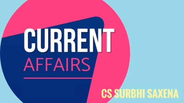 CURRENT AND CORPORATE AFFAIRS : 29 AUGUST 2020