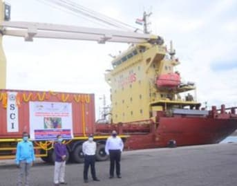 Direct cargo ferry service between India & Maldives jointly e- launched
