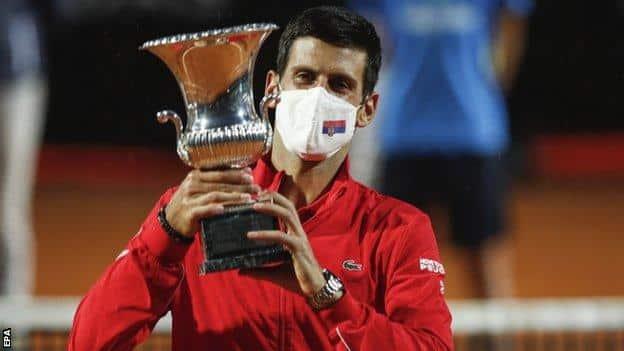 Novak Djokovic wins Italian Open with victory over Diego Schwartzman