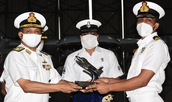 Women officers in helicopter stream of Indian Navy
