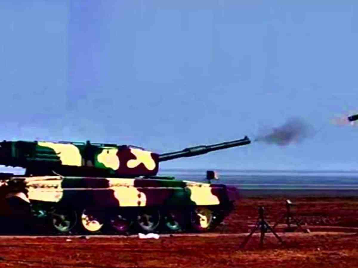 DRDO successfully test fires Laser Guided Anti Tank Guided Missile
