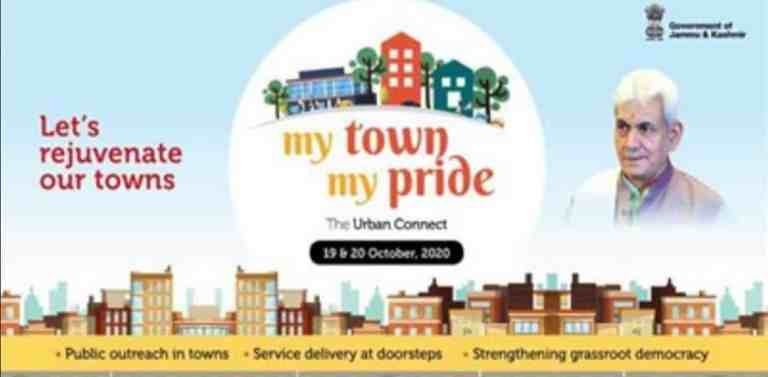 J&K UT administration launches Urban Connect programme MY TOWN, MY PRIDE