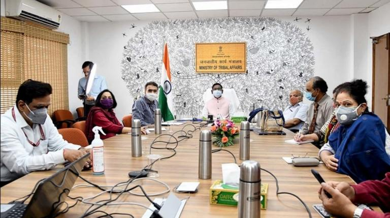 Union Minister of Tribal Affairs Arjun Munda launches two Centers of Excellence for Tribal Welfare
